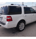 ford expedition 2012 white suv limited flex fuel 8 cylinders 2 wheel drive automatic 77074