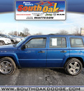 jeep patriot 2010 blue suv sport gasoline 4 cylinders 4 wheel drive automatic 60443