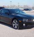 chevrolet camaro 2012 black coupe ss 8 cylinders manual 77074