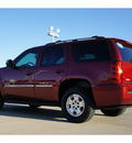 chevrolet tahoe 2011 crimson red metalli suv ls flex fuel 8 cylinders 2 wheel drive automatic 76503