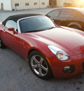 pontiac solstice 2008 red gxp 4 cylinders manual 75062