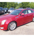 cadillac cts 2013 red wagon 3 6l premium gasoline 6 cylinders rear wheel drive automatic 77074