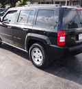 jeep patriot 2010 black suv sport gasoline 4 cylinders front wheel drive automatic 77074