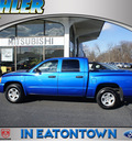dodge dakota 2007 electric blue slt gasoline 6 cylinders 4 wheel drive automatic 07724