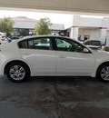 nissan altima 2012 white sedan 2 5 s gasoline 4 cylinders front wheel drive shiftable automatic 77477