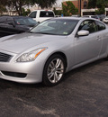 infiniti g37 coupe 2009 silver coupe gasoline 6 cylinders rear wheel drive automatic 77074