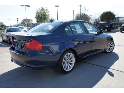 bmw 328i 2011 blue sedan gasoline 6 cylinders rear wheel drive automatic 78729