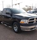 dodge ram 1500 2010 black pickup truck st gasoline 6 cylinders 2 wheel drive 4 speed automatic 76520