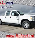 ford f 250 super duty 2013 white xl biodiesel 8 cylinders 2 wheel drive not specified 77539
