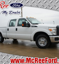 ford f 250 super duty 2013 white xl flex fuel 8 cylinders 2 wheel drive shiftable automatic 77539