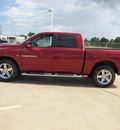 ram 1500 2012 cherry red sport gasoline 8 cylinders 4 wheel drive automatic 77375