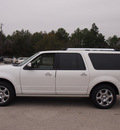 ford expedition el 2013 white platinum tri suv limited flex fuel 8 cylinders 2 wheel drive automatic 77375