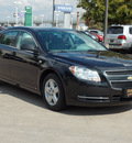 chevrolet malibu 2008 black sedan ls gasoline 4 cylinders front wheel drive automatic with overdrive 77074