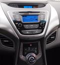 hyundai elantra 2013 dk  gray sedan gls gasoline 4 cylinders front wheel drive automatic 75075