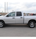 dodge ram 1500 2005 silver pickup truck slt gasoline 8 cylinders rear wheel drive automatic with overdrive 77037
