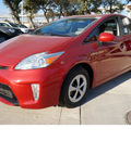 toyota prius 2012 red hatchback three hybrid 4 cylinders front wheel drive automatic 78232