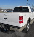 ford f 150 2008 white king ranch flex fuel 8 cylinders 4 wheel drive automatic 62863