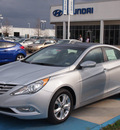 hyundai sonata 2013 silver sedan limited gasoline 4 cylinders front wheel drive automatic 77094