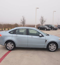 ford focus 2009 lt  blue sedan sel gasoline 4 cylinders front wheel drive automatic 76137