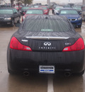 infiniti g37 coupe 2009 black coupe sport gasoline 6 cylinders rear wheel drive automatic 76137