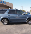 toyota sequoia 2007 blue suv limited gasoline 8 cylinders rear wheel drive automatic 75075