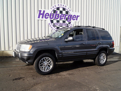 jeep grand cherokee 2004 graphite metallic suv limited gasoline 8 cylinders 4 wheel drive automatic 80905