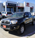 toyota tacoma 2012 black prerunner v6 gasoline 6 cylinders 2 wheel drive automatic 75110