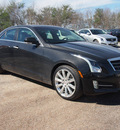 cadillac ats 2013 black sedan 2 0l premium gasoline 4 cylinders rear wheel drive automatic 77074