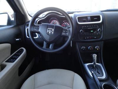 dodge avenger 2012 blue sedan se flex fuel 6 cylinders front wheel drive automatic 60443