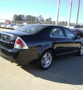 ford fusion 2008 black sedan v6 sel gasoline 6 cylinders front wheel drive automatic 75503