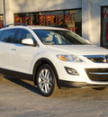 mazda cx 9 2012 white suv grand touring gasoline 6 cylinders front wheel drive shiftable automatic 75080