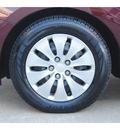 honda accord 2012 dk  red sedan lx gasoline 4 cylinders front wheel drive automatic 77025