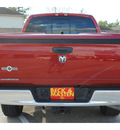 dodge ram 1500 2008 red pickup truck slt gasoline 8 cylinders rear wheel drive automatic 77375