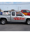 chevrolet colorado 2012 silver pickup truck lt gasoline 4 cylinders 2 wheel drive automatic 78840