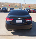 hyundai elantra 2012 black sedan gls gasoline 4 cylinders front wheel drive automatic 76116