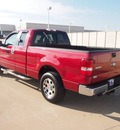 ford f 150 2007 red xlt gasoline 8 cylinders rear wheel drive automatic 76108