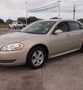 chevrolet impala 2012 gold sedan ls fleet flex fuel 6 cylinders front wheel drive automatic 78016