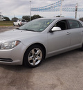 chevrolet malibu 2010 silver sedan lt gasoline 4 cylinders front wheel drive automatic 78016