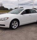 chevrolet malibu 2010 white sedan ls gasoline 4 cylinders front wheel drive automatic 78016