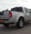 nissan frontier 2010 silver se v6 gasoline 6 cylinders 2 wheel drive automatic with overdrive 77375