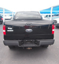 ford f 150 2007 black pickup truck xl gasoline 6 cylinders rear wheel drive automatic 76234