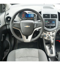 chevrolet sonic 2013 dk  gray sedan ls auto gasoline 4 cylinders front wheel drive automatic 76051