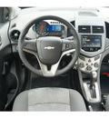 chevrolet sonic 2013 dk  gray sedan ls auto gasoline 4 cylinders front wheel drive automatic 76051