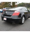 honda accord 2010 black coupe ex l v6 w navi gasoline 6 cylinders front wheel drive automatic 08750