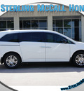 honda odyssey 2012 white van ex l gasoline 6 cylinders front wheel drive automatic 77339