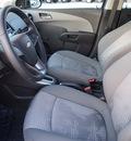 chevrolet sonic 2013 dk  gray sedan ls auto gasoline 4 cylinders front wheel drive automatic 78155