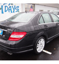 mercedes benz c class 2008 black sedan c300 4matic sport gasoline 6 cylinders all whee drive automatic 07701