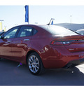 dodge dart 2013 red sedan limited gasoline 4 cylinders front wheel drive automatic 77388