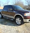 ford f 150 2008 dk  red king ranch flex fuel 8 cylinders 4 wheel drive automatic 75606