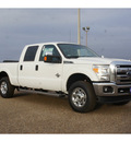 ford f 250 super duty 2013 white xlt biodiesel 8 cylinders 4 wheel drive automatic 78580